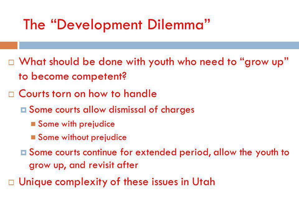 The Development Dilemma