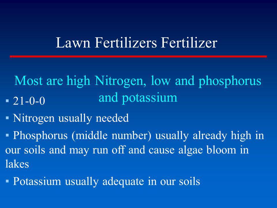 Lawn Fertilizers Fertilizer