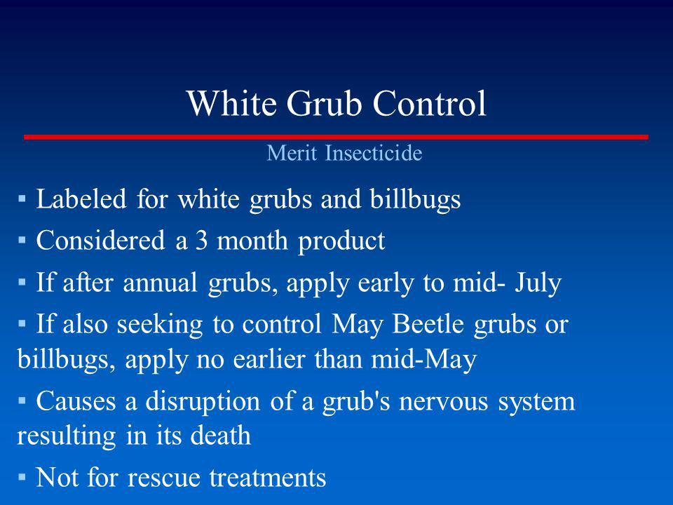 White Grub Control Labeled for white grubs and billbugs
