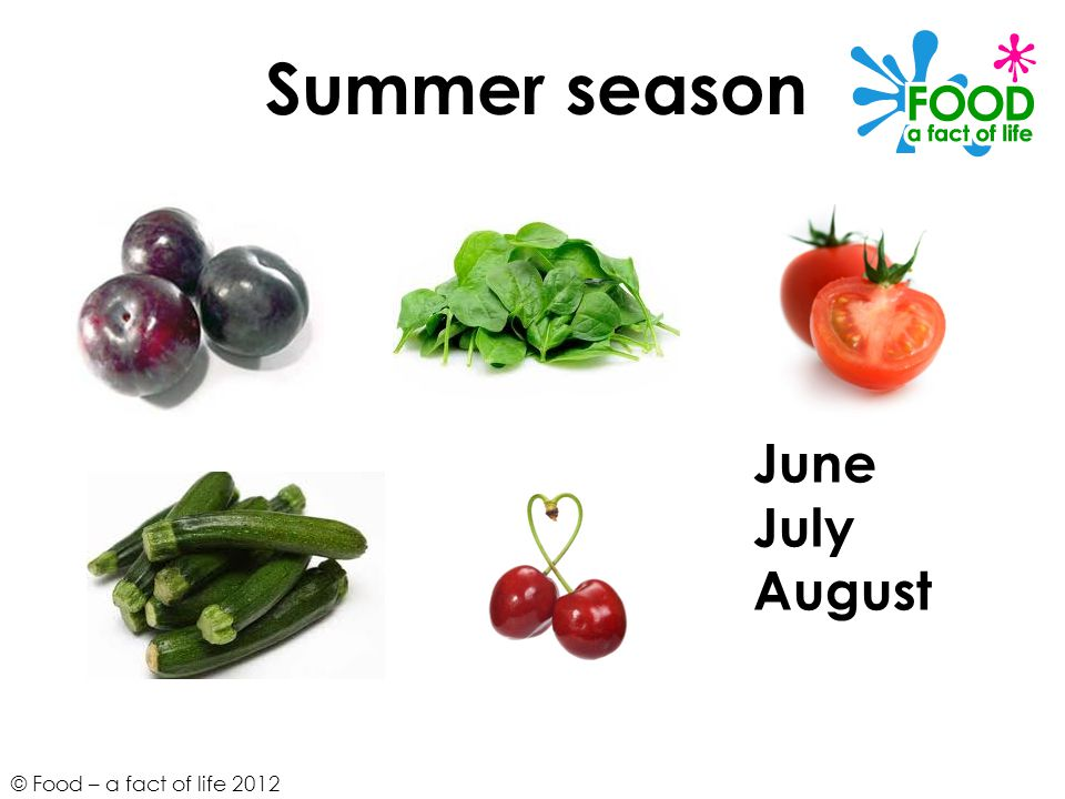 Summer season June July August
