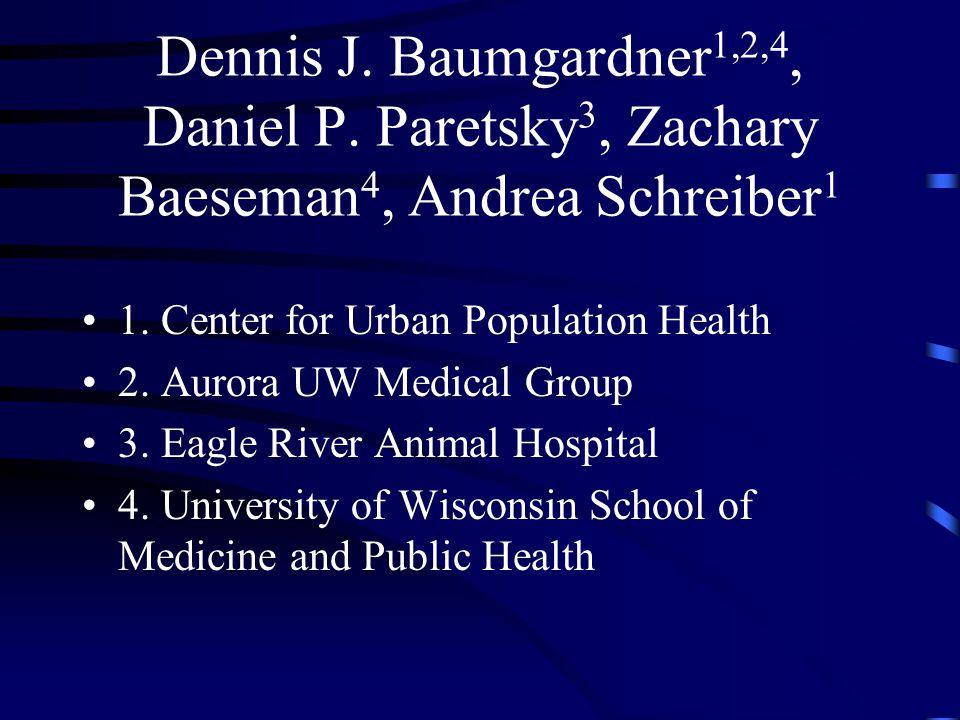 Dennis J. Baumgardner1,2,4, Daniel P