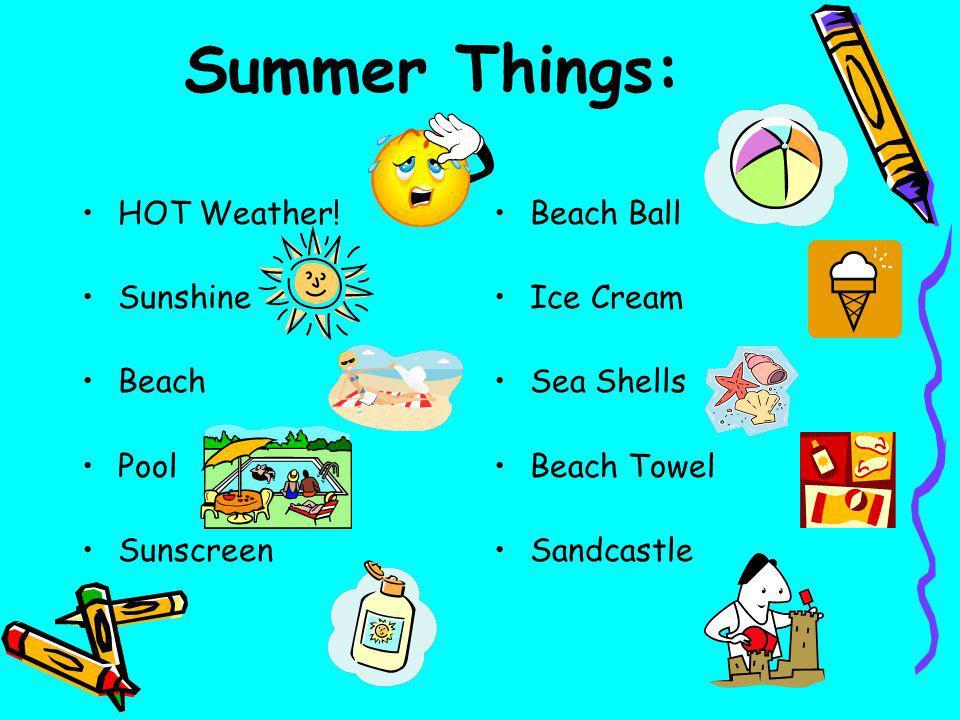 Summer Things: HOT Weather! Sunshine Beach Pool Sunscreen Beach Ball