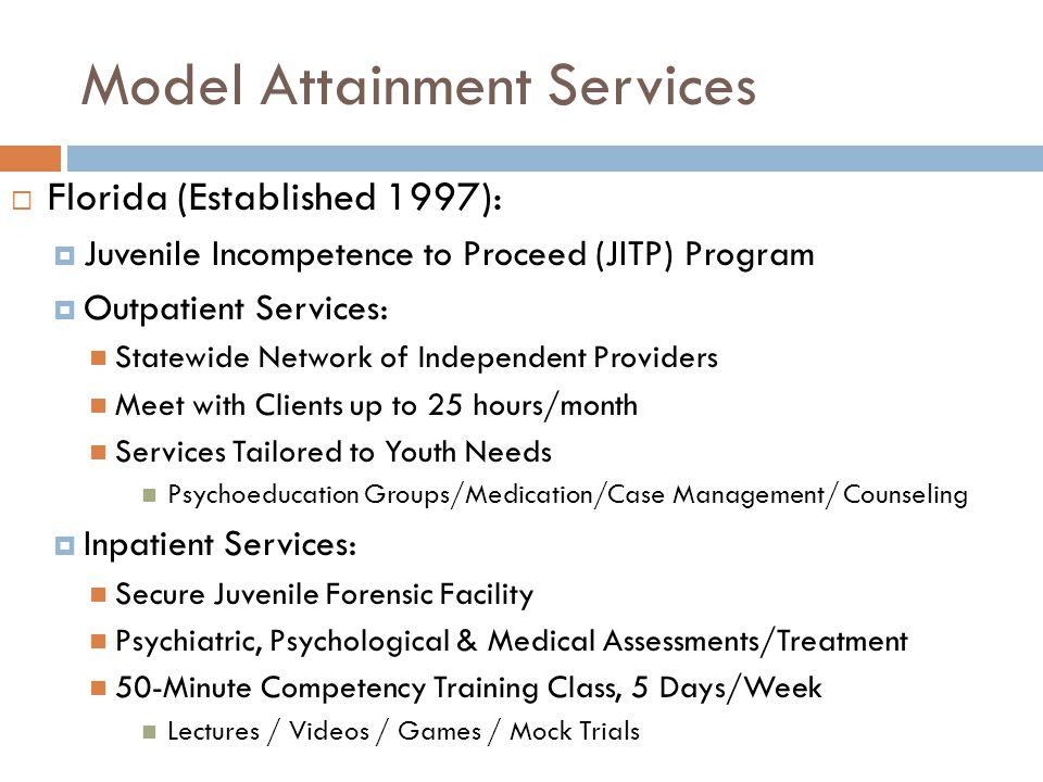 Model Attainment Services