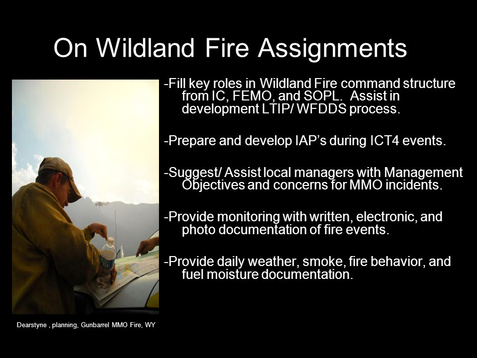 On Wildland Fire Assignments