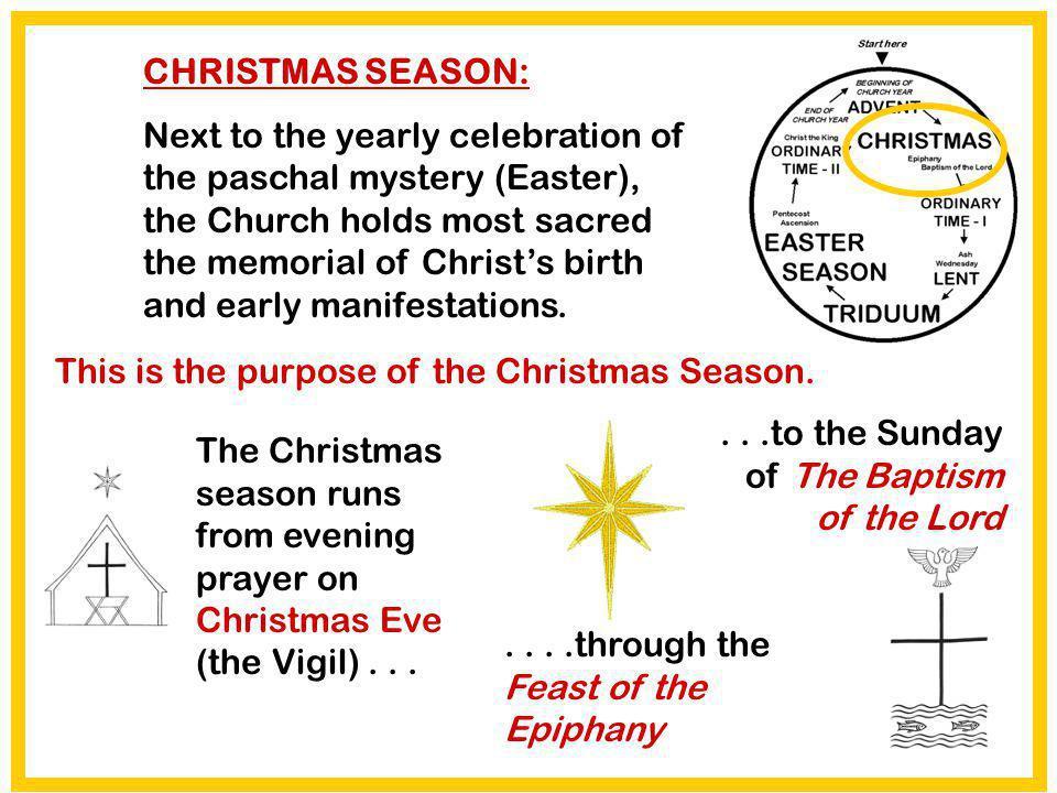 CHRISTMAS SEASON: