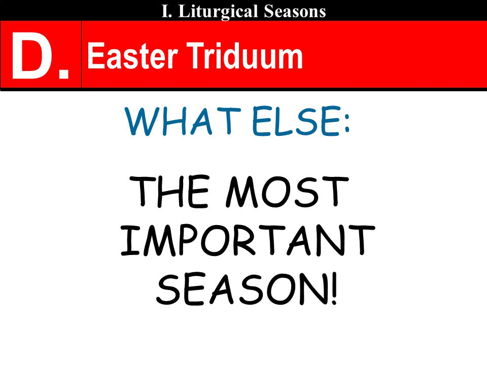 THE MOST IMPORTANT SEASON!