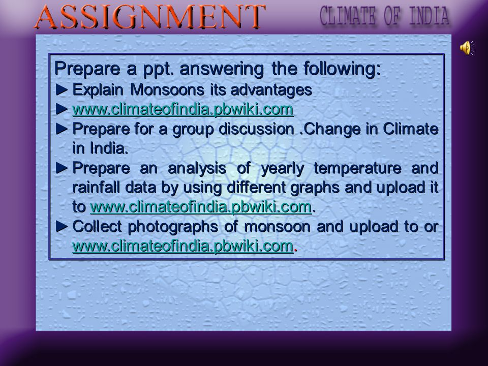 Prepare a ppt. answering the following: