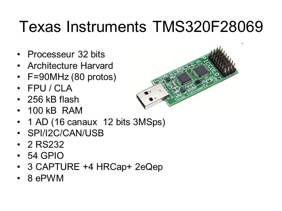 Texas Instruments TMS320F28069