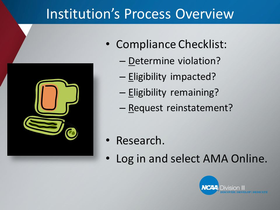 Institution's Process Overview