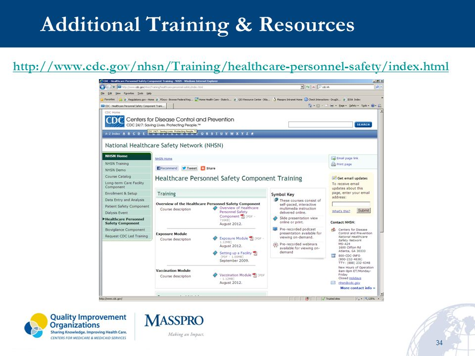Additional Training & Resources