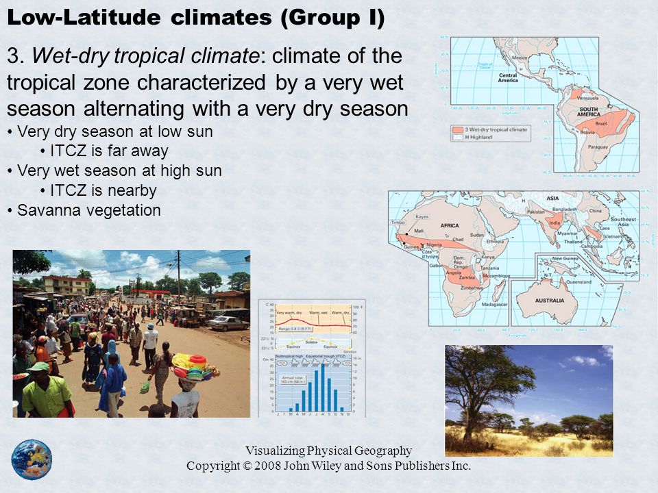 Low-Latitude climates (Group I)