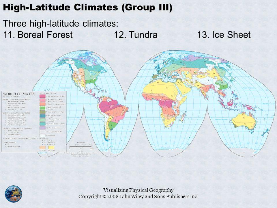 High-Latitude Climates (Group III)