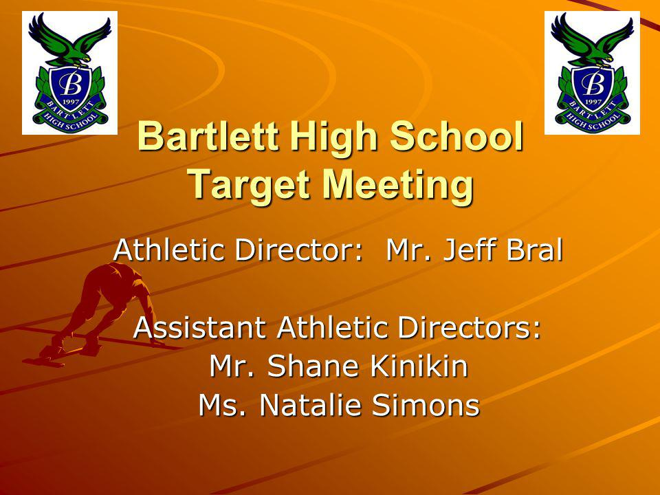 Bartlett High School Target Meeting