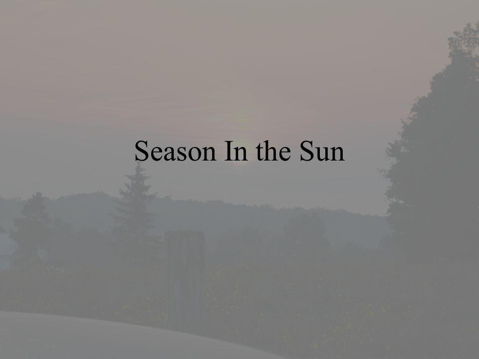 Season In the Sun
