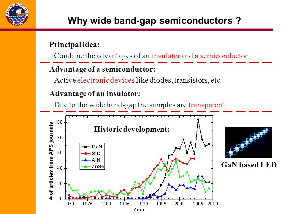 Why wide band-gap semiconductors