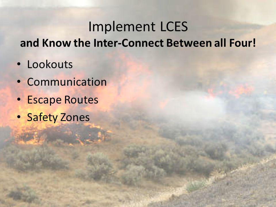 Implement LCES and Know the Inter-Connect Between all Four!