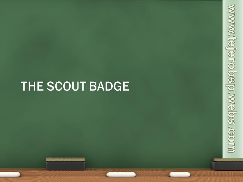 The scout badge