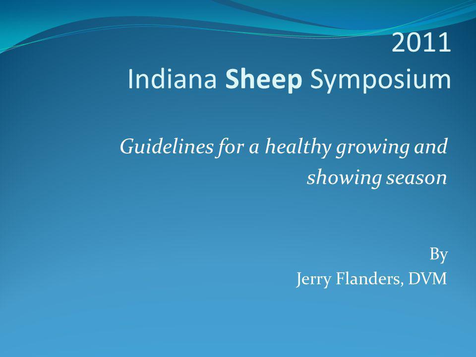 2011 Indiana Sheep Symposium