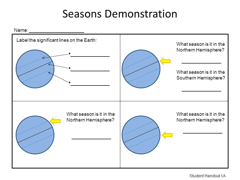 Seasons Demonstration