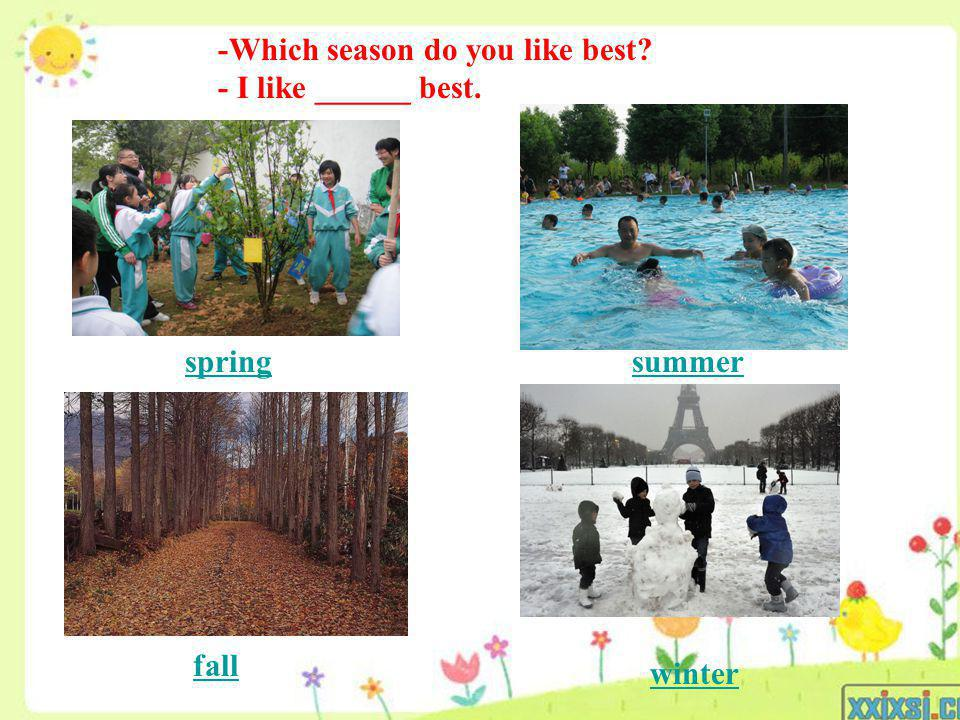 -Which season do you like best