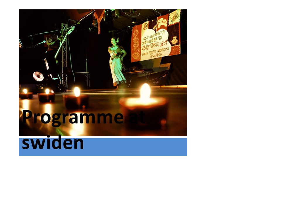 Programme at swiden