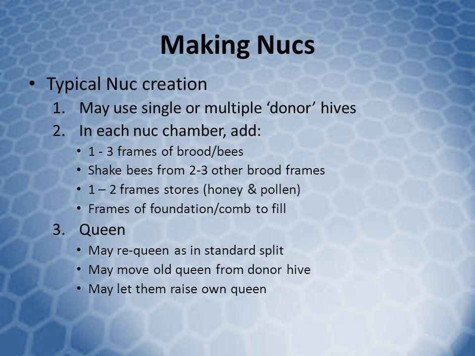 Making Nucs Typical Nuc creation