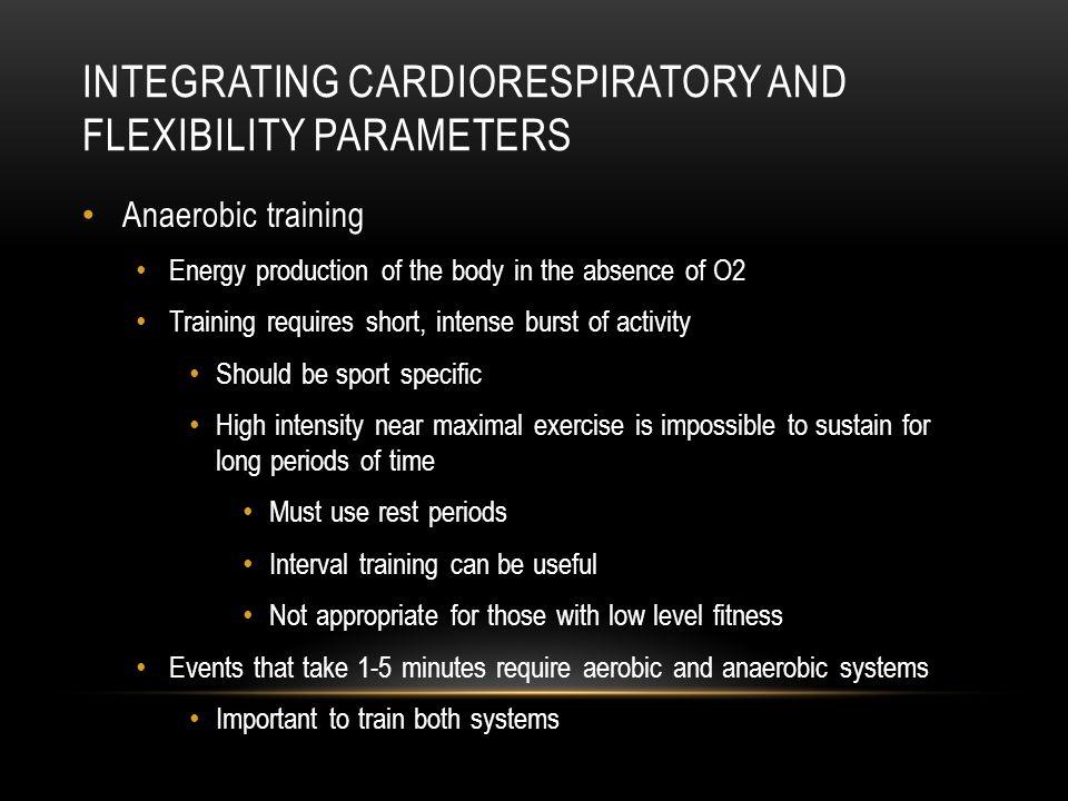 Integrating Cardiorespiratory and Flexibility Parameters