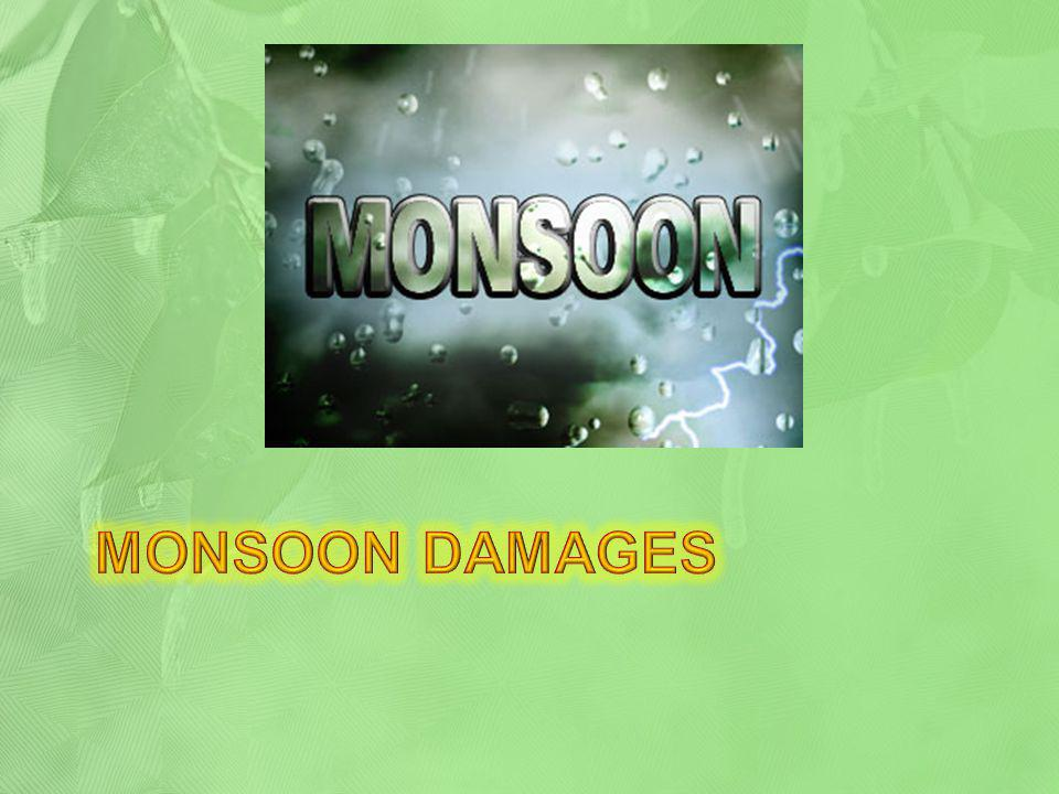 Monsoon damages