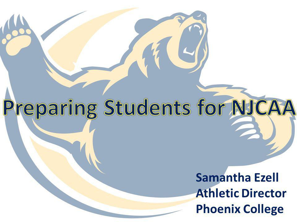 Preparing Students for NJCAA