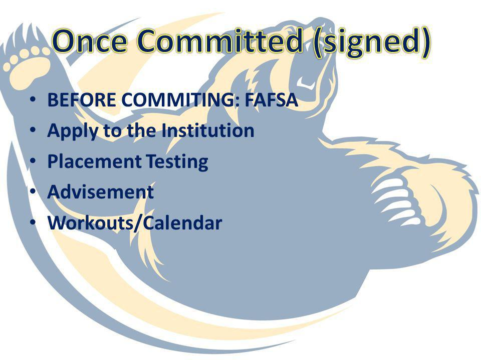 Once Committed (signed)