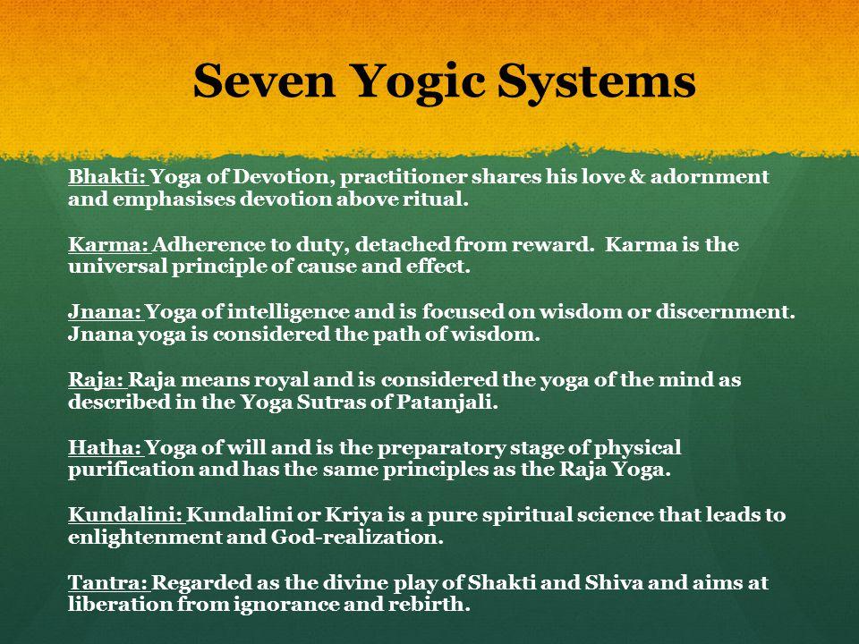 Seven Yogic Systems