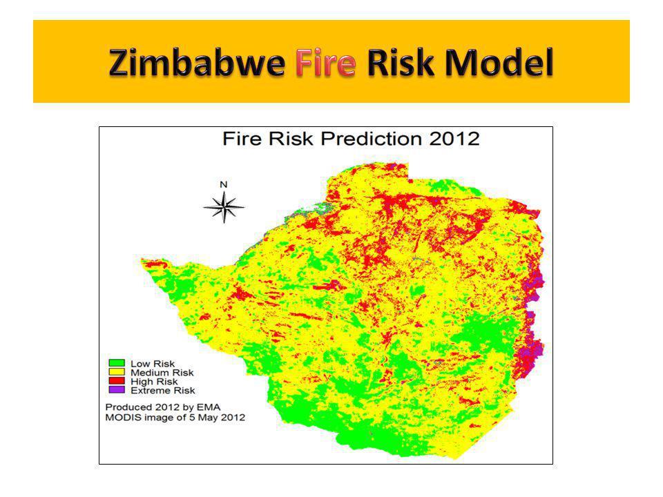 Zimbabwe Fire Risk Model
