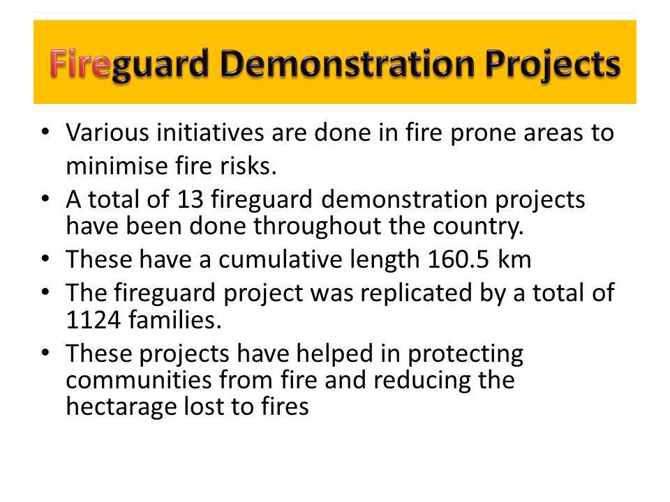 Fireguard Demonstration Projects