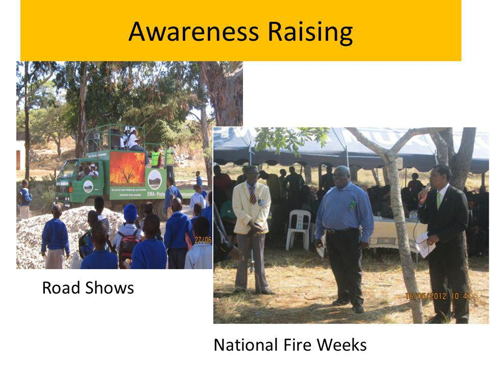 Awareness Raising Road Shows National Fire Weeks