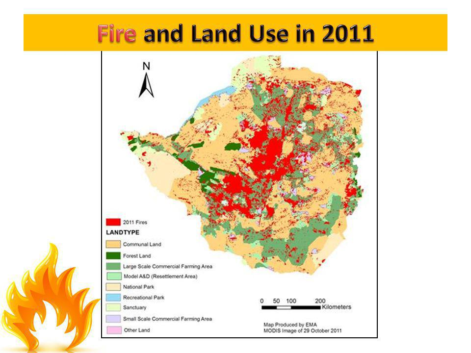 Fire and Land Use in 2011