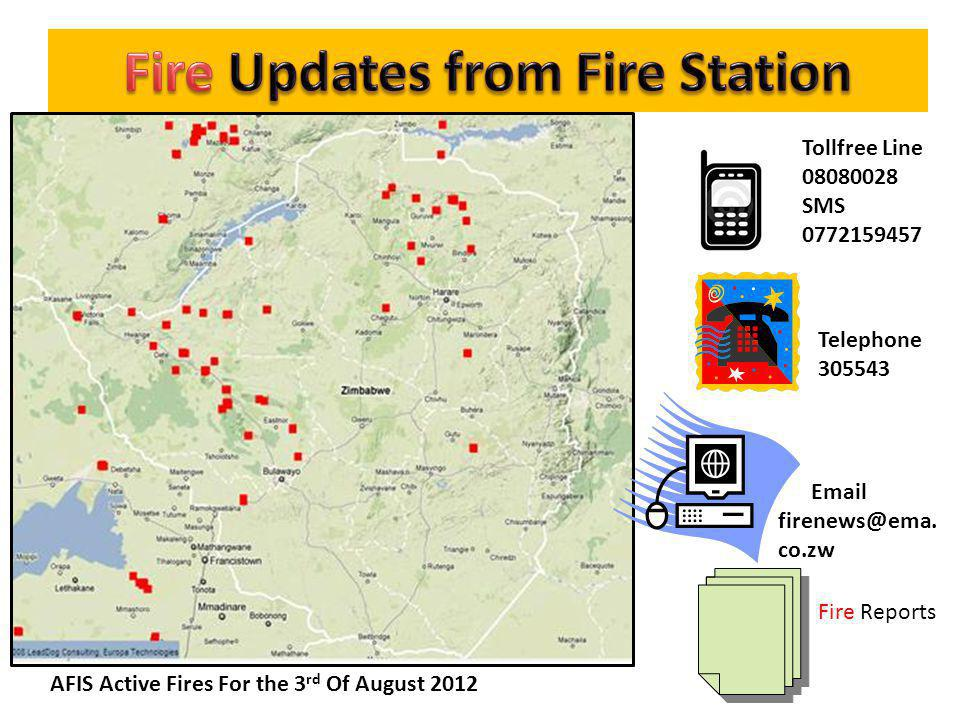 Fire Updates from Fire Station