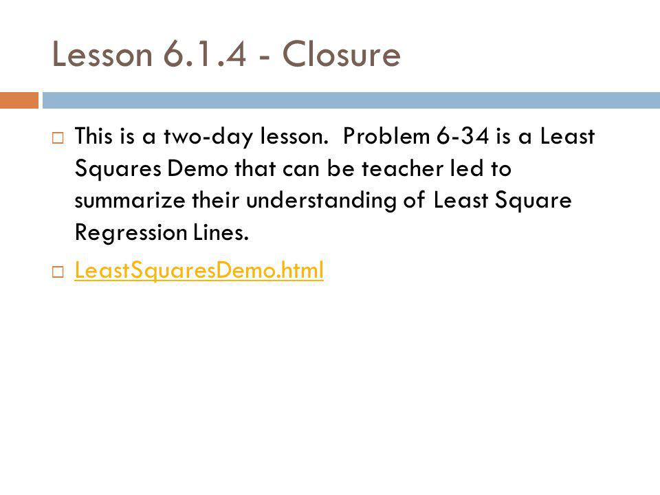 Lesson 6.1.4 - Closure