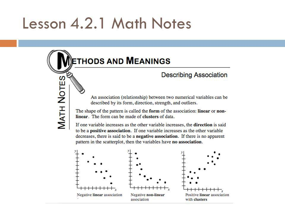 Lesson Math Notes