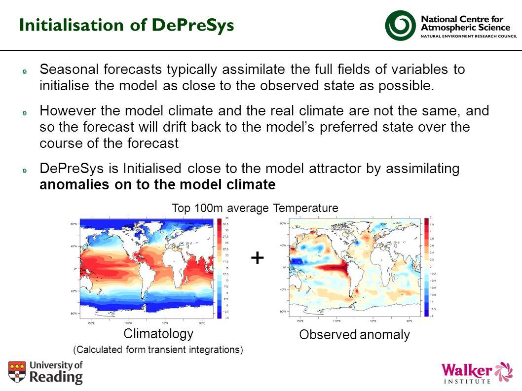 Initialisation of DePreSys