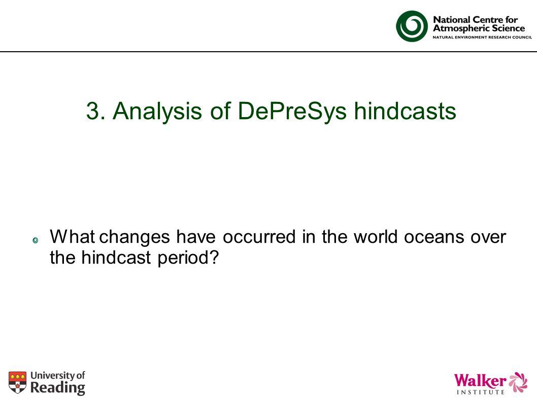3. Analysis of DePreSys hindcasts