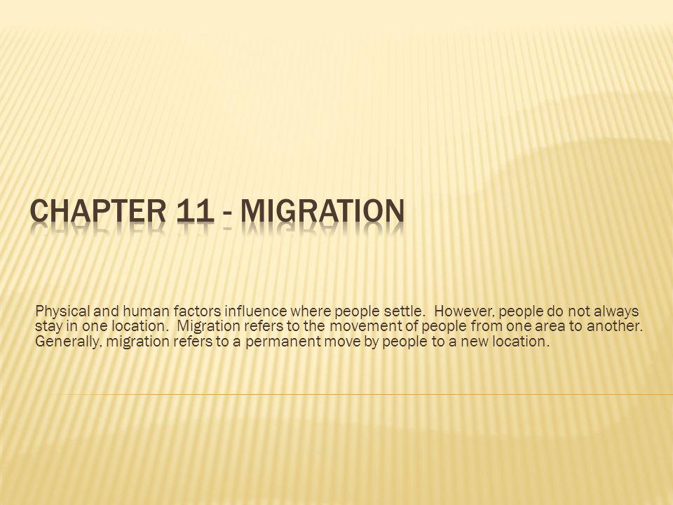 Chapter 11 - Migration