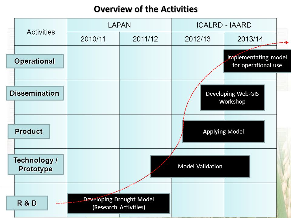 Overview of the Activities