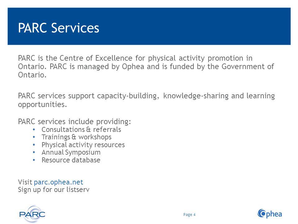 PARC Services