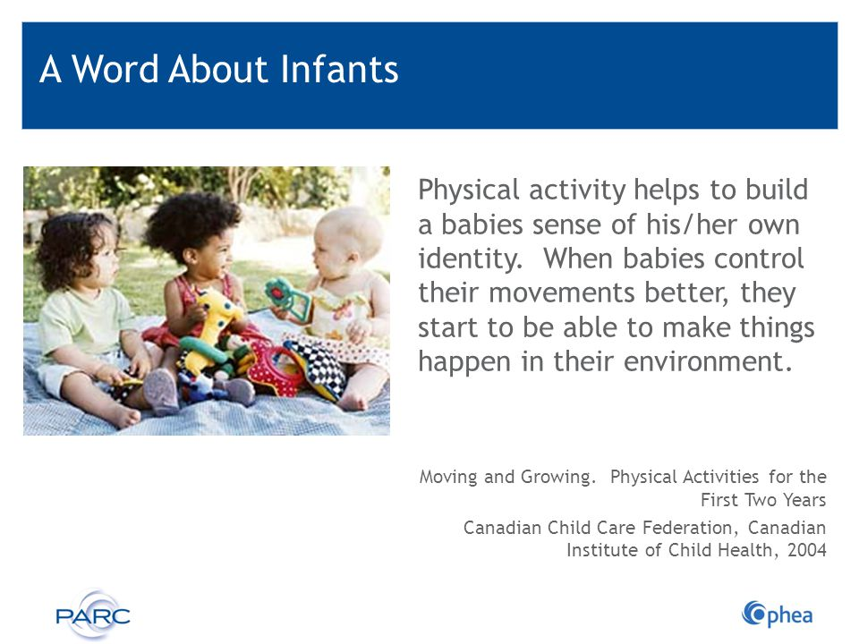A Word About Infants