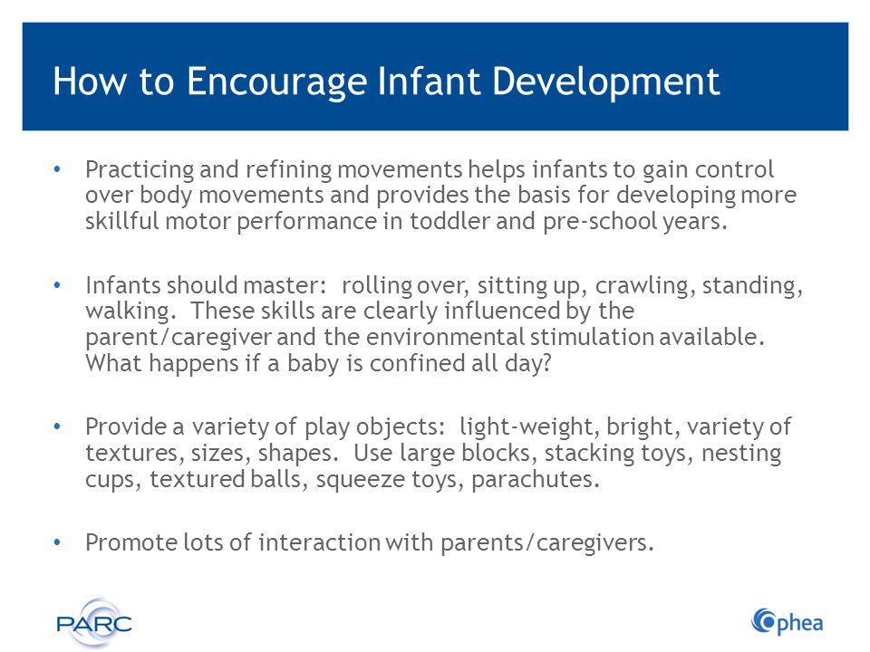 How to Encourage Infant Development
