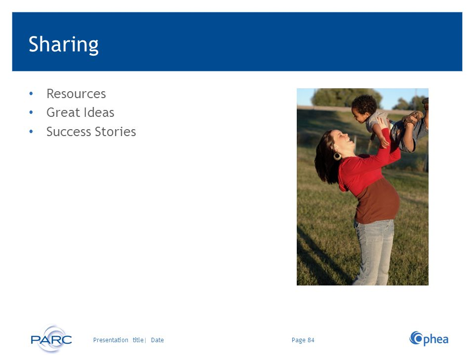 Sharing Resources Great Ideas Success Stories Presentation title| Date