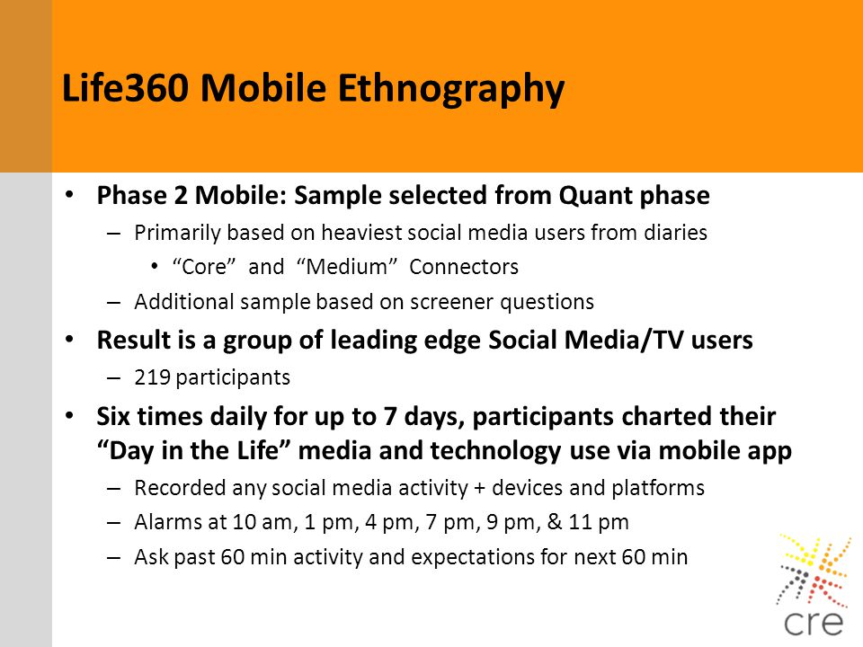 Life360 Mobile Ethnography