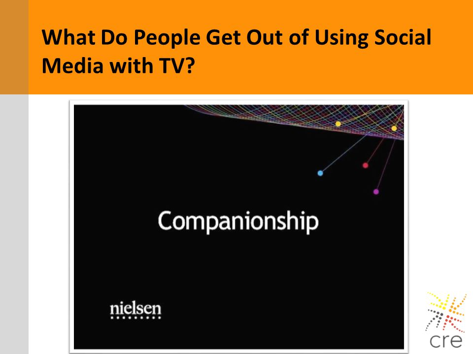 What Do People Get Out of Using Social Media with TV