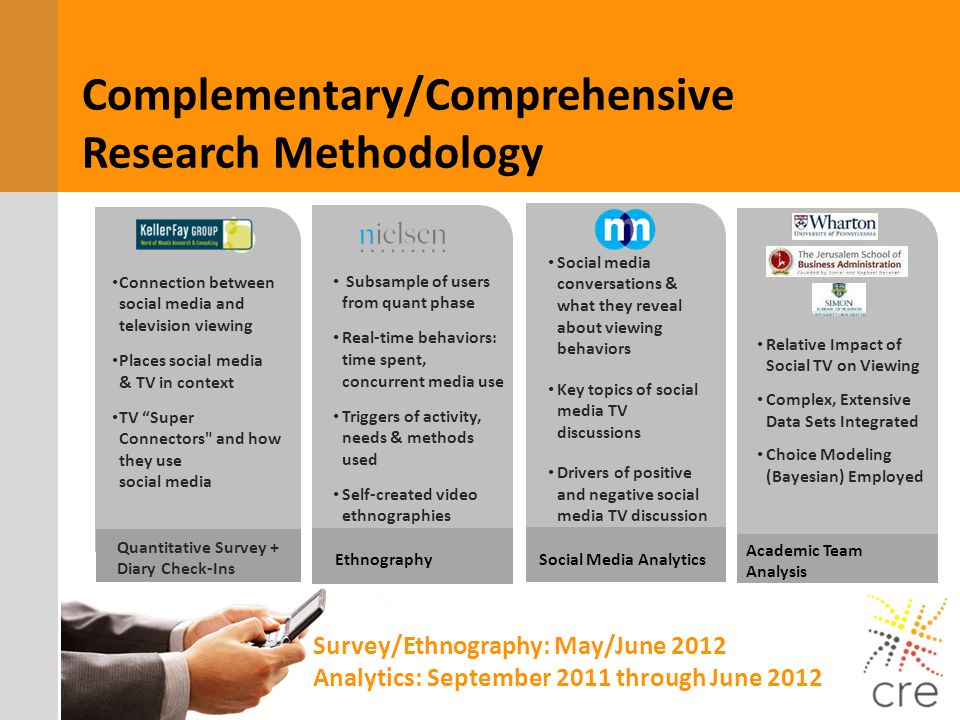 Complementary/Comprehensive Research Methodology