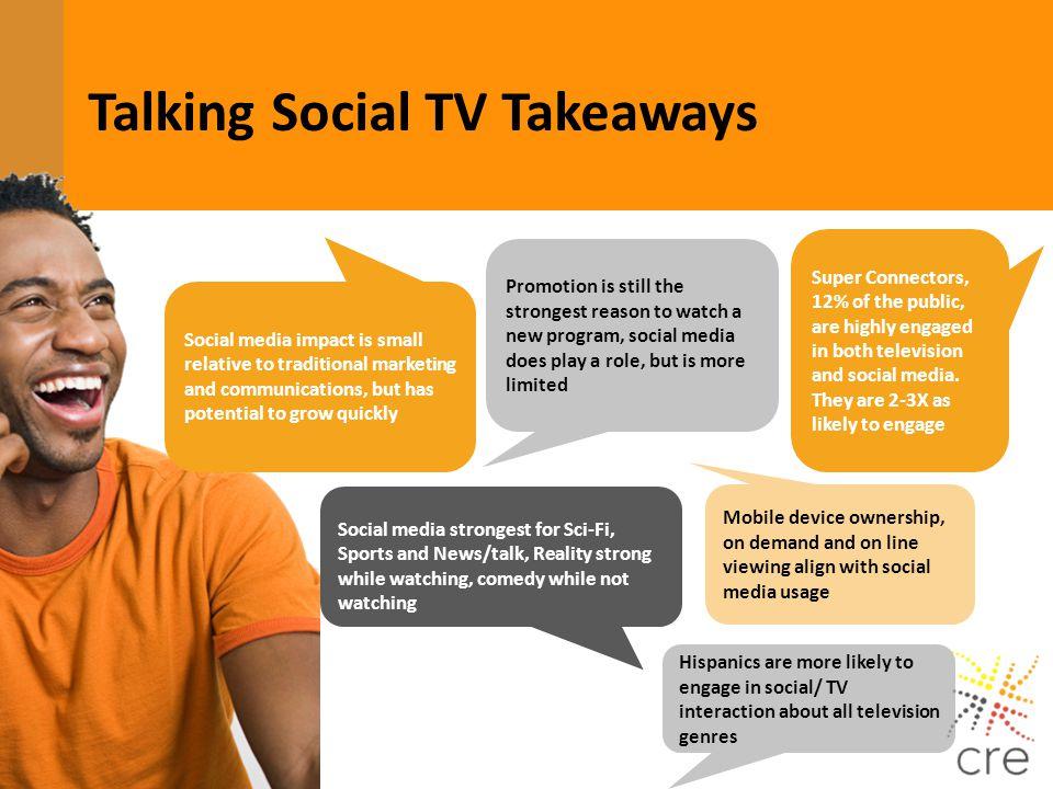 Talking Social TV Takeaways
